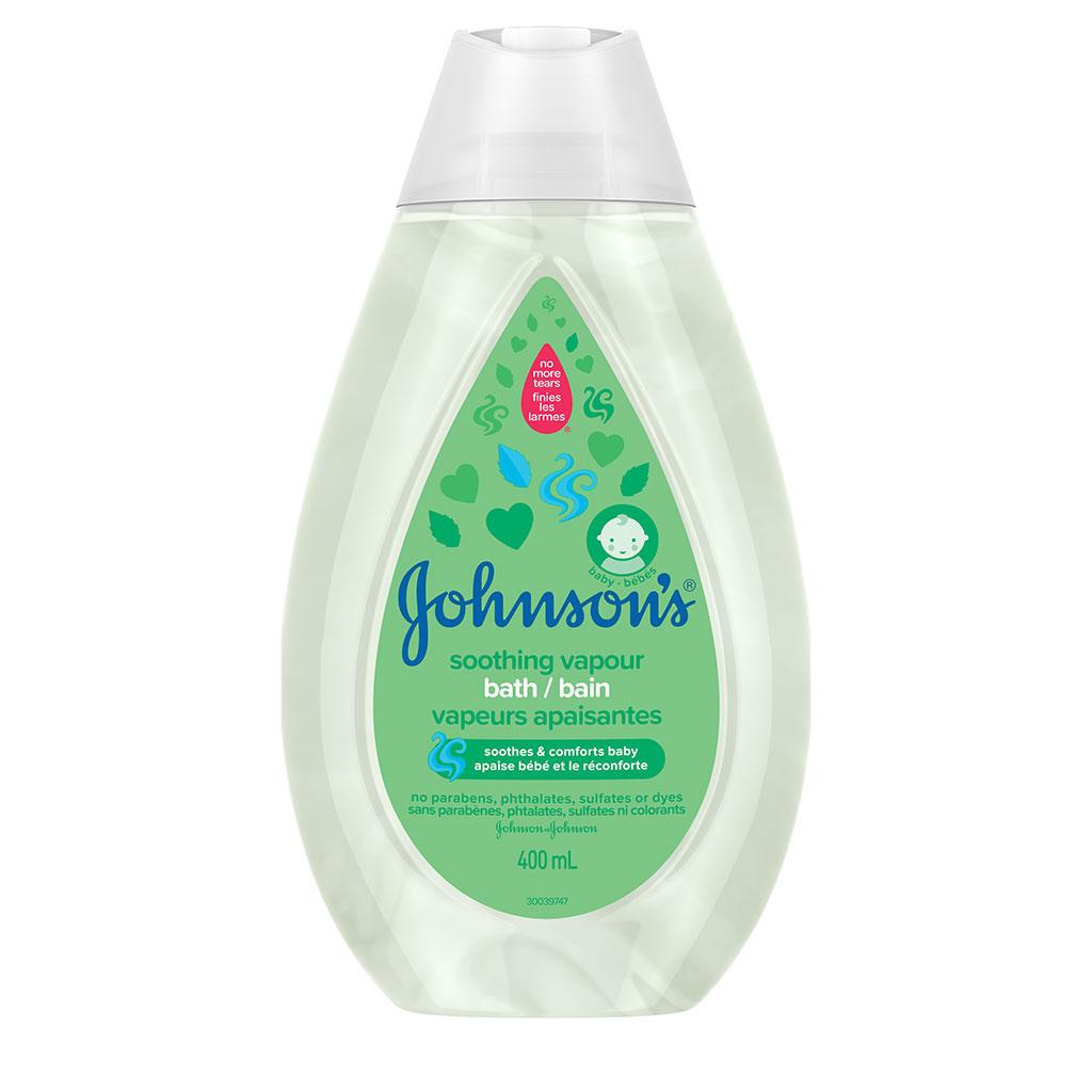 Bain pour bébés JOHNSON'S® Vapeurs apaisantes