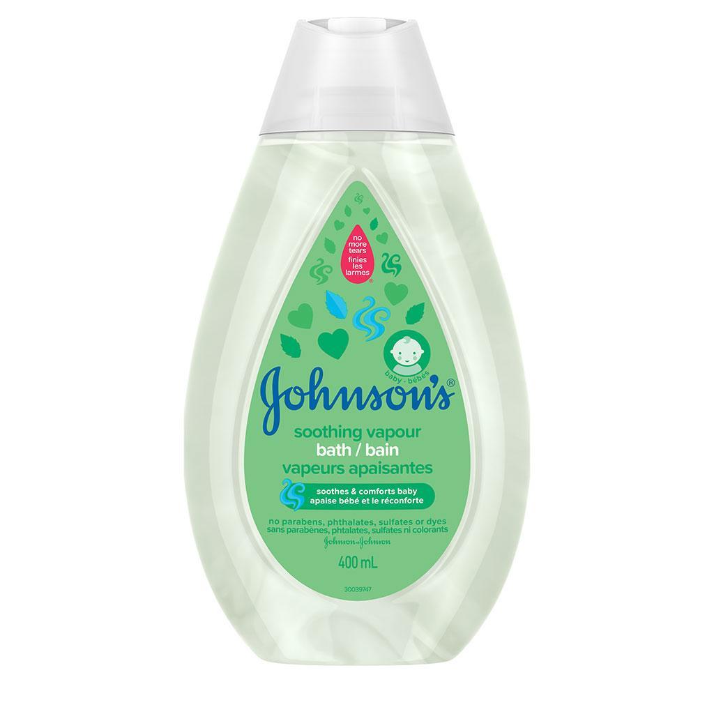 Bain pour bébés JOHNSON'S Vapeurs apaisantes