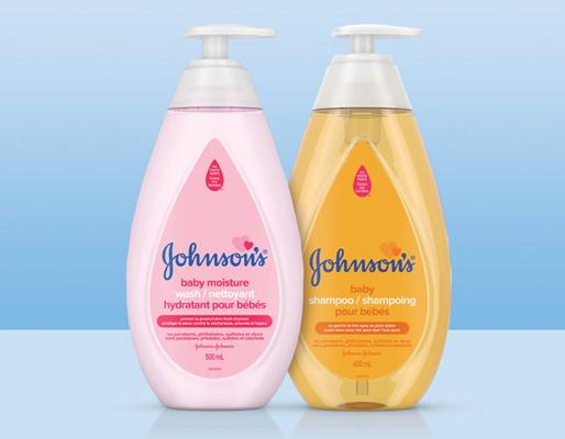 Johnson's® Classics kids products collection