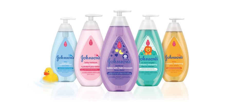 Produits pour bébés Johnson's®