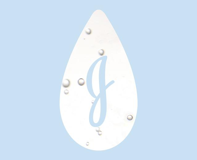 Logo de la marque Johnson's®, en forme de larme