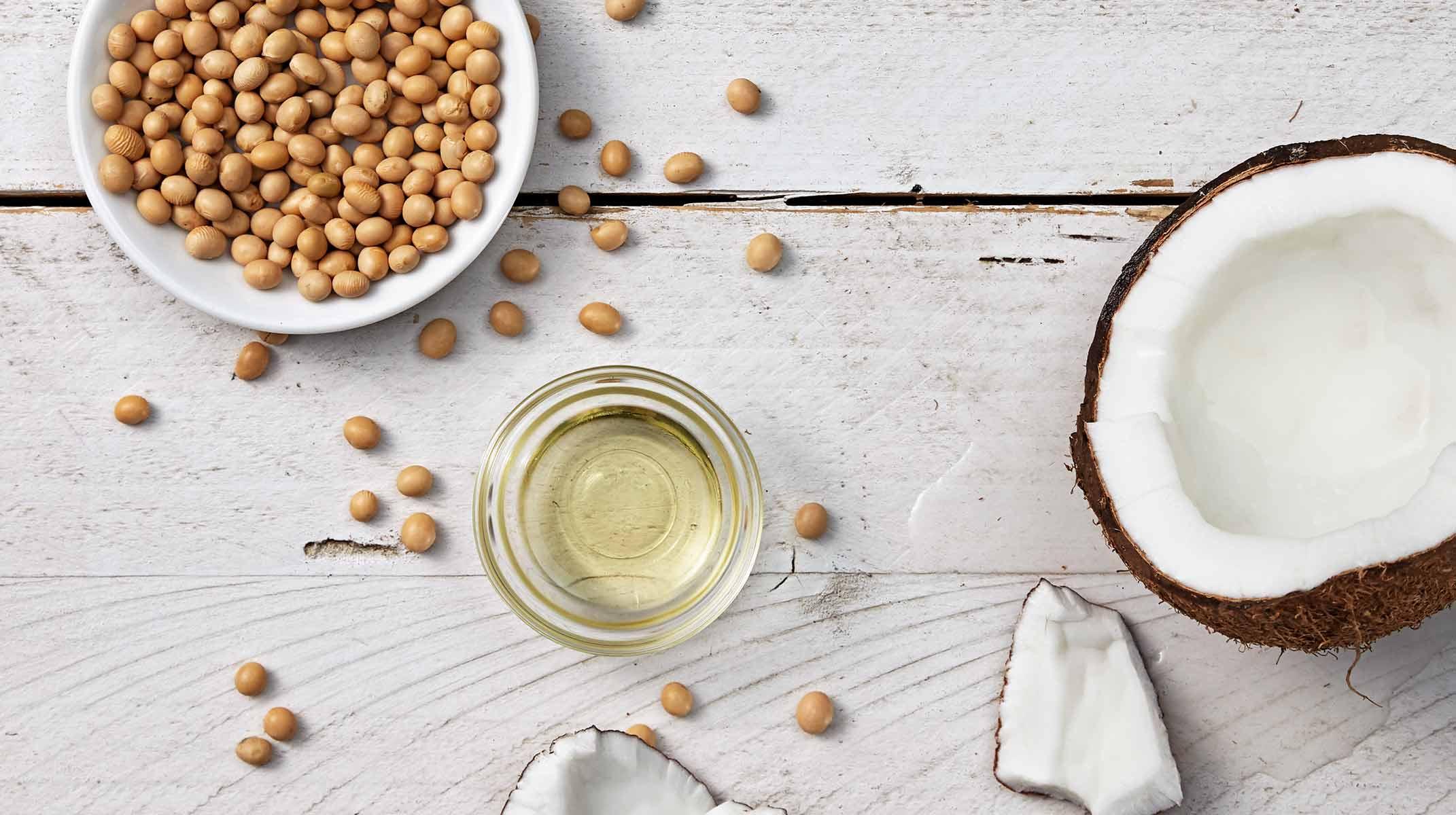 L'huile de noix de coco comme ingrédient pour les produits Johnson's®